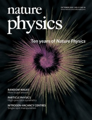 2015-10-01: Nature Physics paper on citation networks published and on the cover