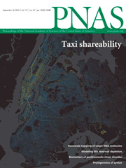 2014-09-16: PNAS paper on taxi shareability published and on the cover